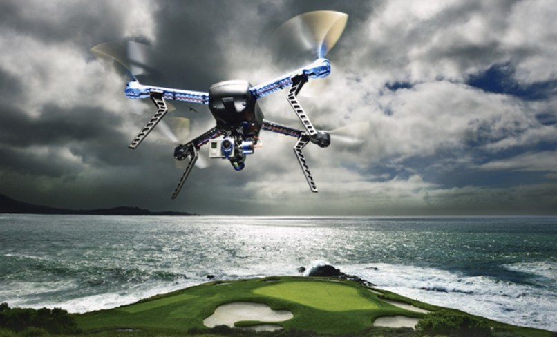 DRONE TO FLY OVER US OPEN GOLF TOURNAMENT