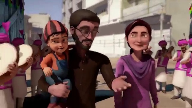 3 Bahadur Full The First Animated Movie Of Pakistan Song 2 Sheraaz Upal