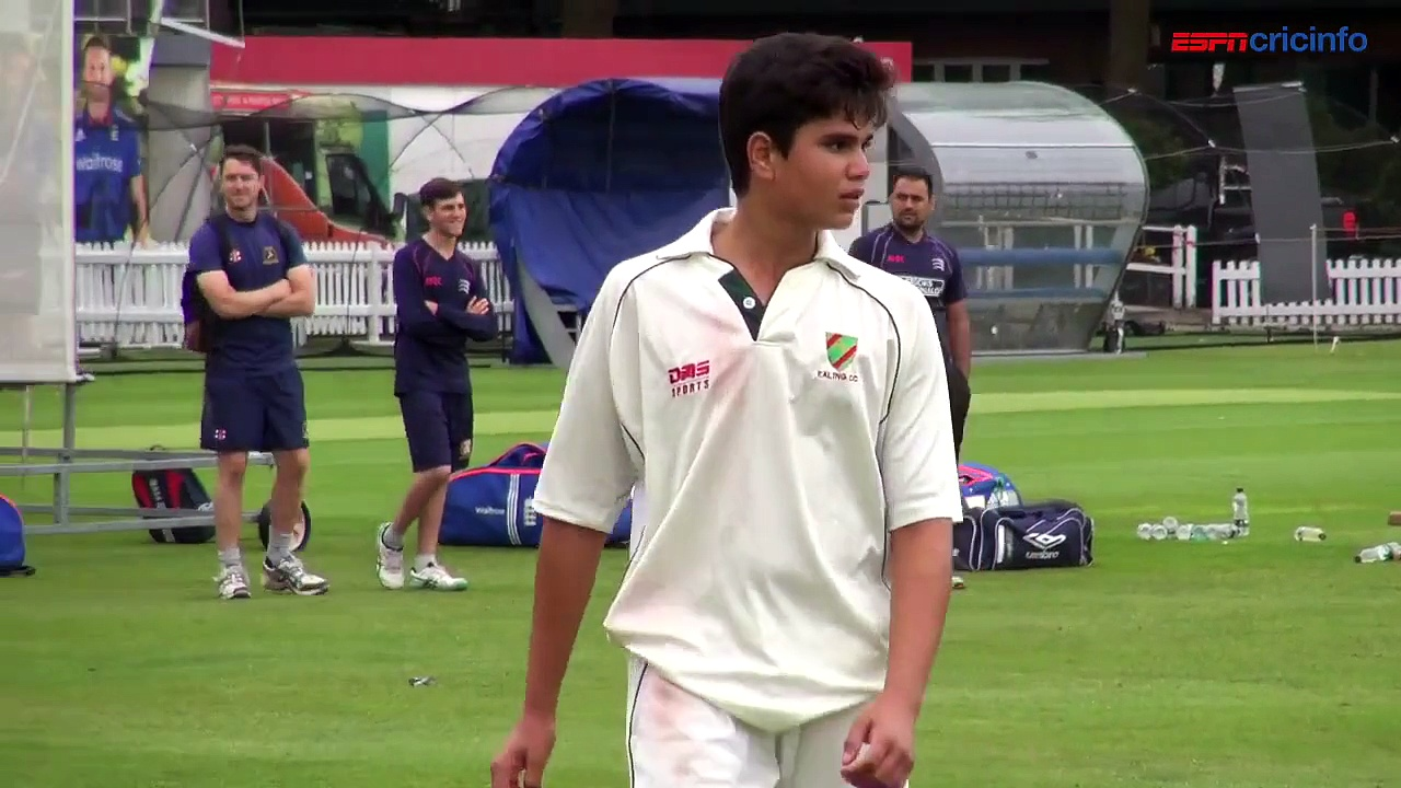 Tendulkar scion joins England at Lord's