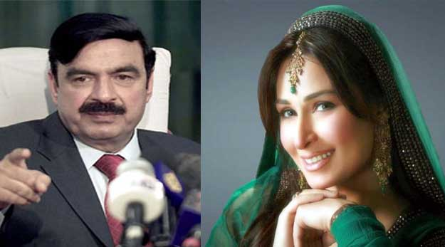 Reema desires to interview Shaikh Rasheed