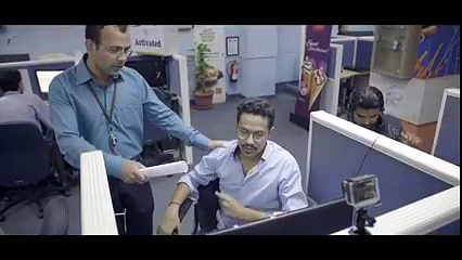 Ali Gul Pir goes to work at McDelivery
