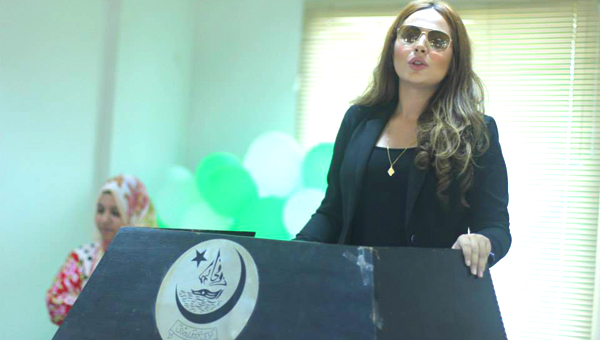 Ayyan Ali visits KU's Public Administration dept as Chief Guest