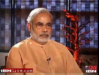 Narendra Modi abruptly ends TV interview after being quizzed
