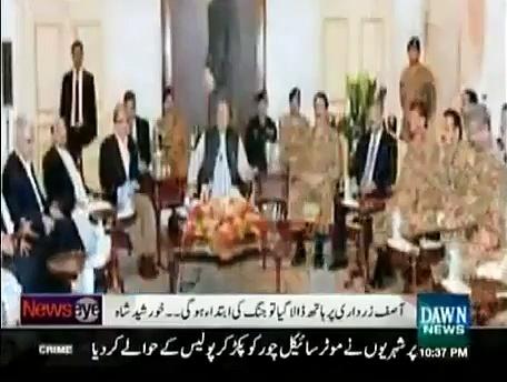 Nawaz Sharif afraid of Gen.Raheel Sharif's popularity