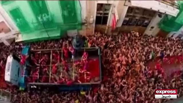 Tomato Festival in Spain