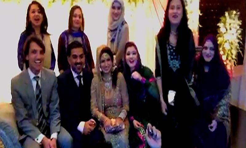Wedding Ceremony in Lahore celebrates NA-122 verdict