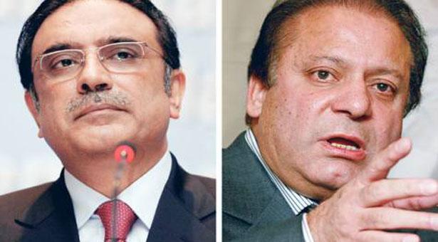 Zardari, Nawaz harsh statements for each other