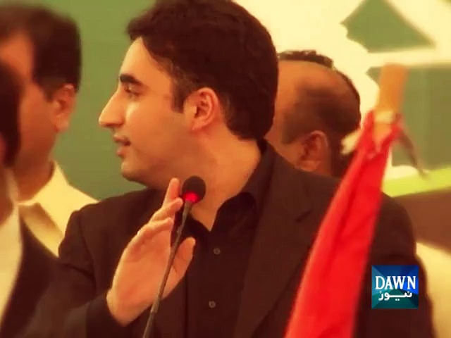 Bilawal leads Great rally in Sindh