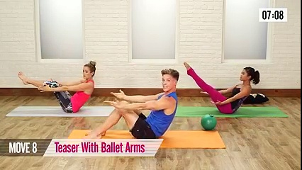 Flatten your belly with this killer workout