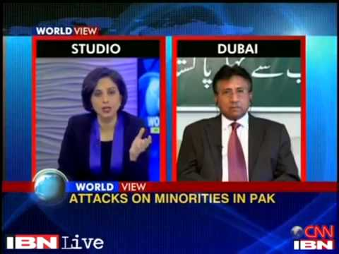 Pervez Musharraf's solid response to Indian Journalist