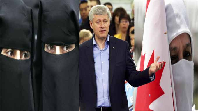 The Niqab is dominating Canada's election