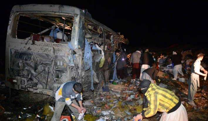 11 killed, several injured in Quetta bus explosion