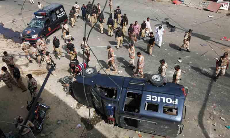 77 policemen of Karachi killed in 2015
