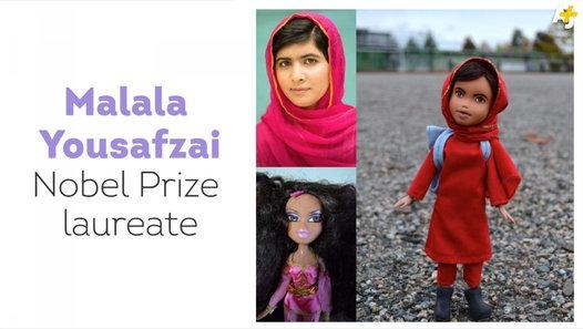 Who Wants a Malala Doll for Christmas?