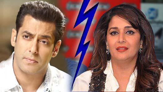 Salman Khan insults Madhuri Dixit!