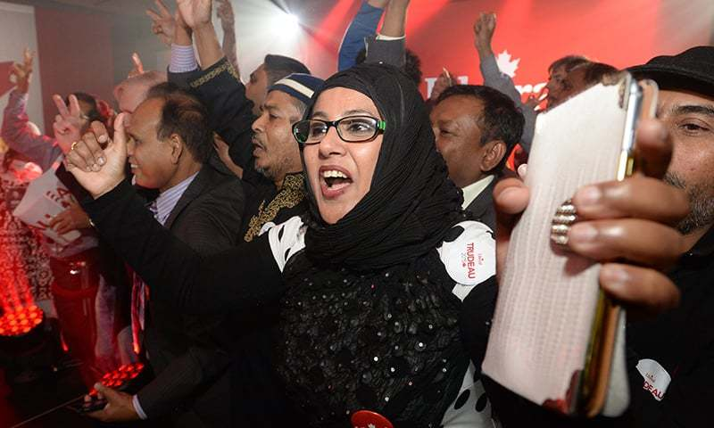 Three Pakistanis emerge victorious in Canada Elections