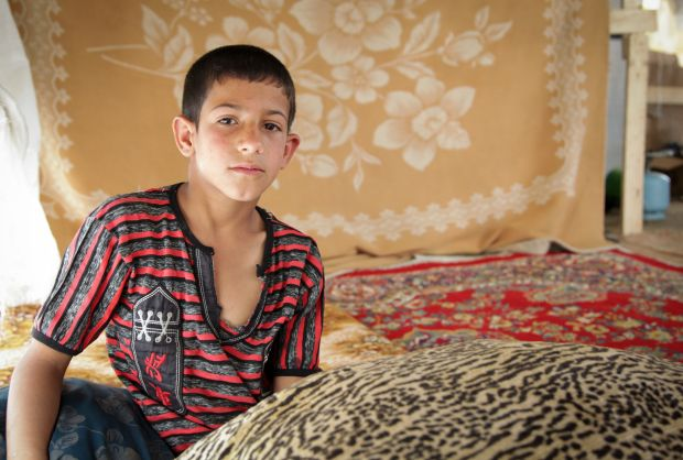 Child refugee dreams of returning to Syria