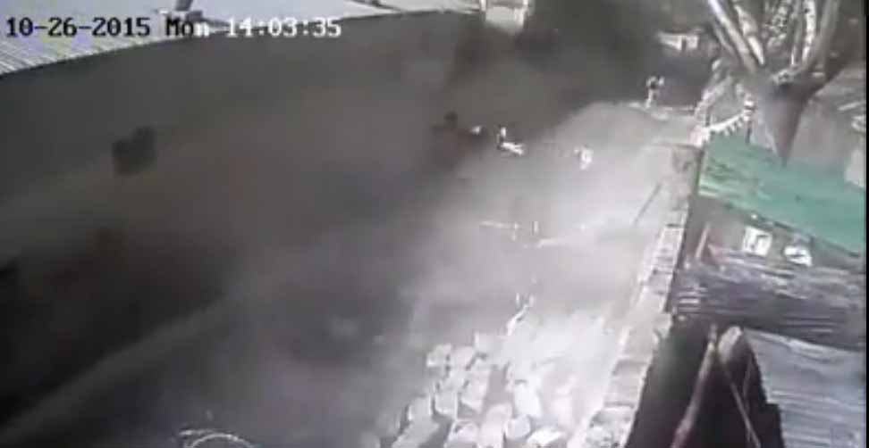 Frightening Earthquake footage