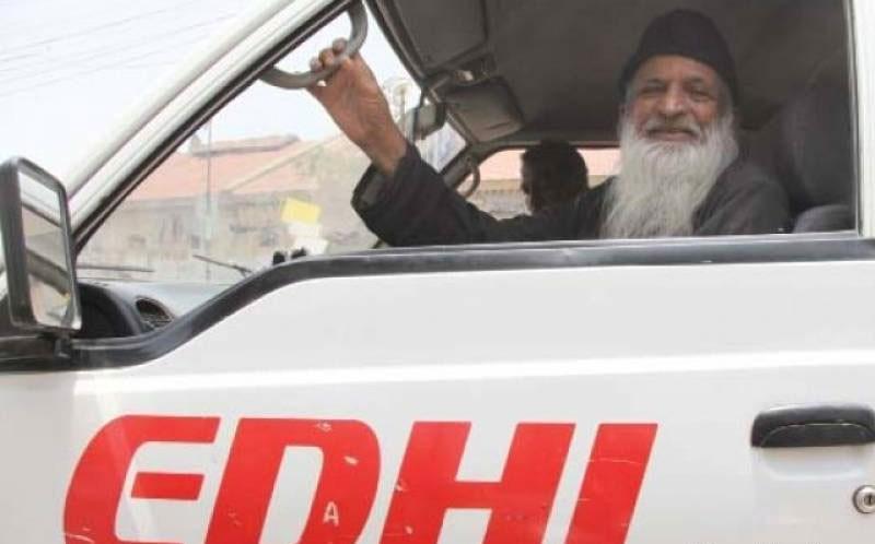 Edhi declines Modi's donation