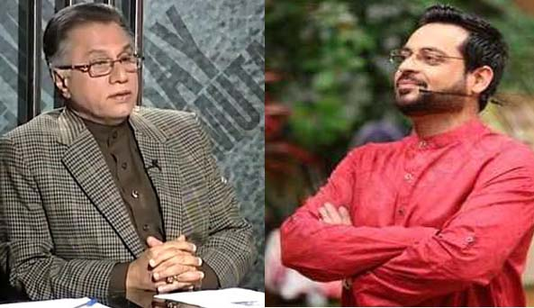 Hassan Nisar tells reason of Muslims decline, Amir Liaquat seconds him