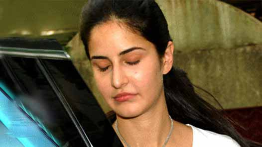 Katrina Kaif spotted Crying