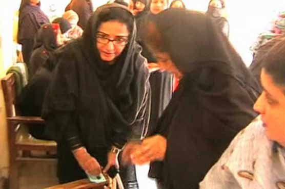 Chaos at Khairpur polling station
