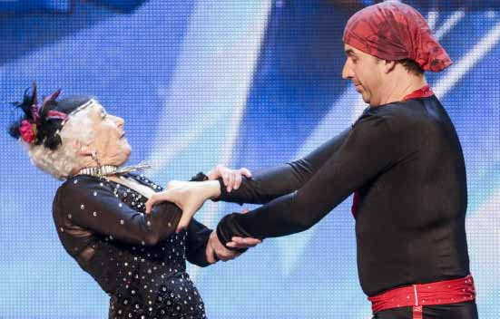 80 years old woman amazing dance in Britain's got talent