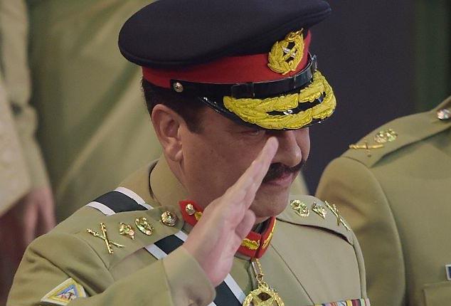 Raheel Sharif – real hero in Pakistan for battling terrorism: US Newspaper