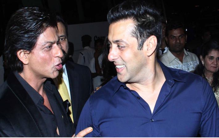 Salman Khan, Shahrukh together with YRF