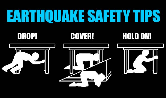 Tips for Earthquake safety