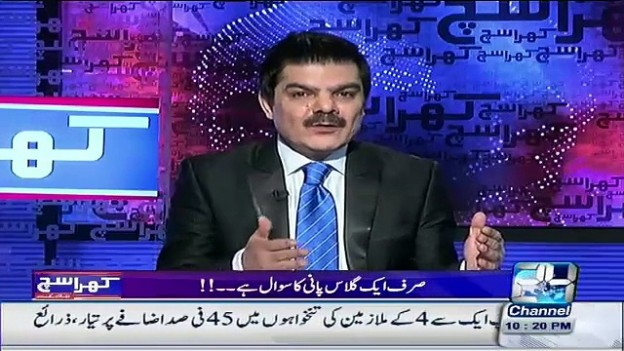 Khara Sach with Mubashir Luqman – October 12