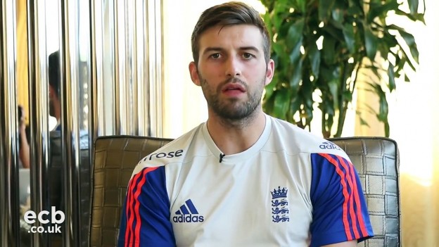 Mark Wood brings you a classic dressing room prank on James Taylor