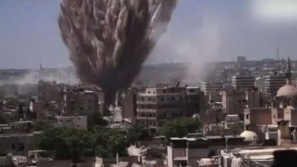 Barrel bombs continue to fall on Syria