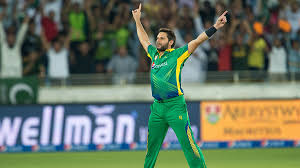 Shahid Afridi 3 wickets in 2nd T20 against England
