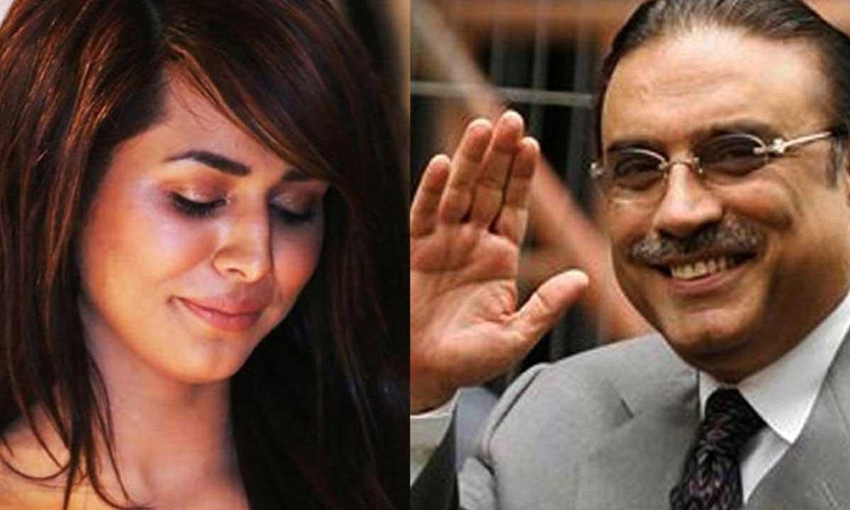 Ayyan Ali's love for Zardari, Bilawal