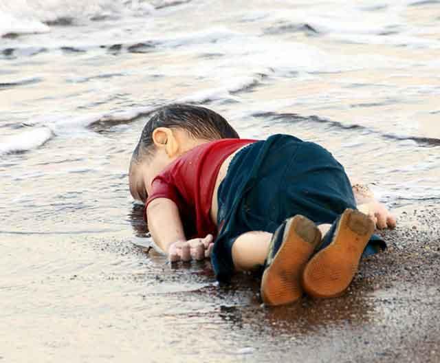 'Crocodile tears' for dead Syrians