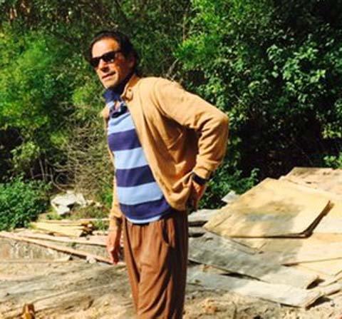 Imran Khan after divorce