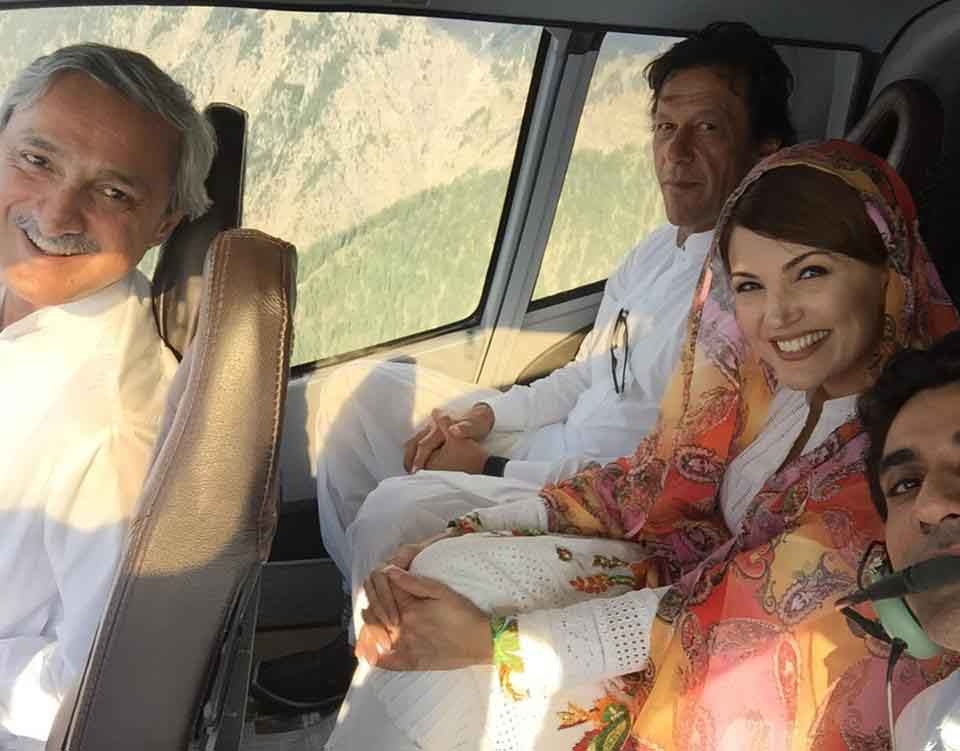 Reham Khan about Jahangir Tareen