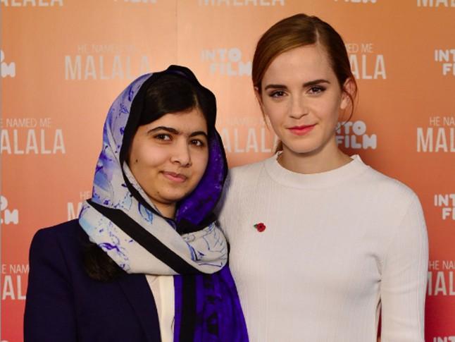 Emma Watson interviews Malala