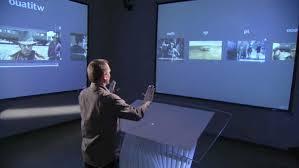 Minority Report Screen Technology