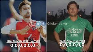 M Aamir and Yasir Shah Maiden Overs