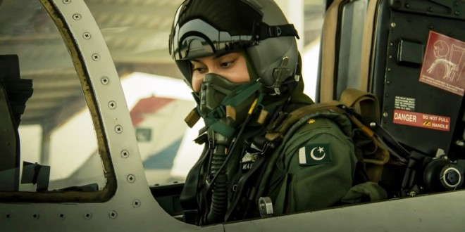 Last video of martyred female pilot