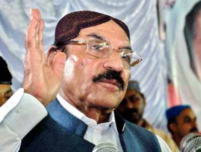 Qaim Ali Shah In Trouble During Passing Out Parade