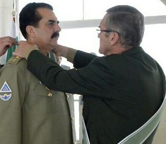 Brazil awards Raheel Shairf 'Order of Merit'