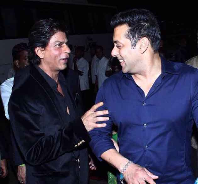 Salman Khan's birthday wishes to Shahrukh Khan