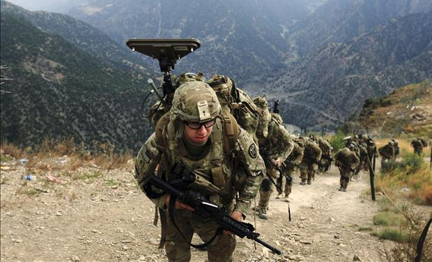 U.S. soldiers heading to Syria