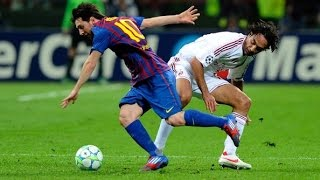 Lionel Messi Destroying Alessandro Nesta _ Roberto Carlos & Fabio Cannavaro