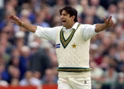 Wasim Akram at Karachi Training Camp