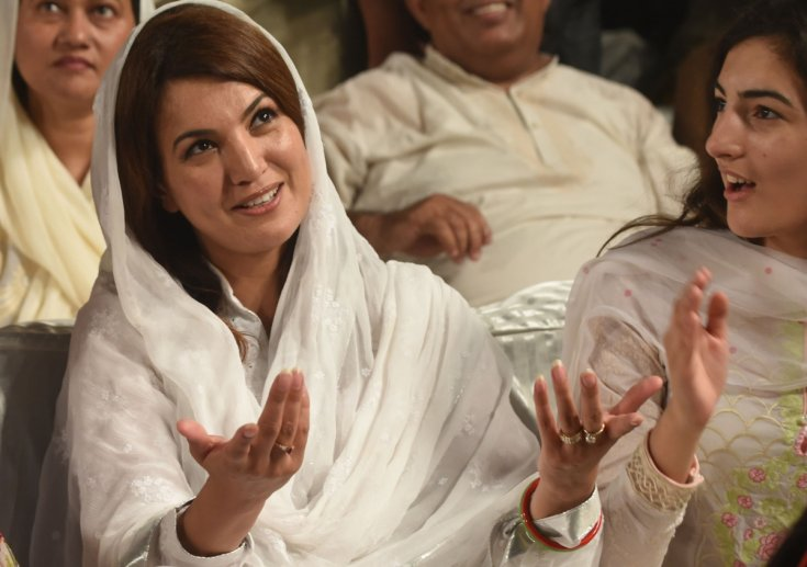 Reham Khan taunts Imran Khan