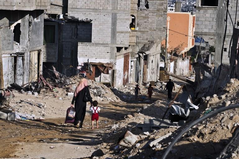 Money raised to rebuild Palestinian houses